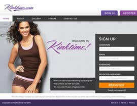 #5 untuk Design a Website Mockup for http://www.kinktime.com oleh princevenkat