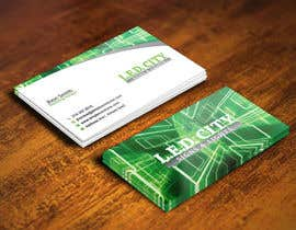 #71 for LED LIGHTING Business card Opportunity by gohardecent