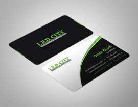 #63 for LED LIGHTING Business card Opportunity by ashanurzaman