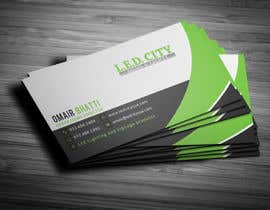 #29 for LED LIGHTING Business card Opportunity by Fgny85