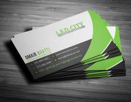 #64 for LED LIGHTING Business card Opportunity by Fgny85