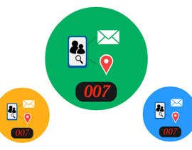 #26 for Logo design for spy mobile app af Udaythec