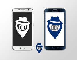 #85 for Logo design for spy mobile app af cosminpaduraru97