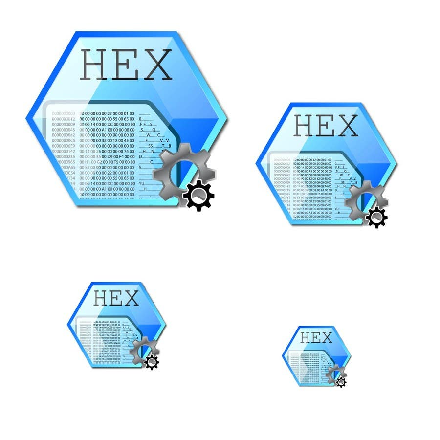 #23 for Design some Icons for a hex editor application by hammad143