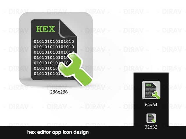 #9 for Design some Icons for a hex editor application by dirav