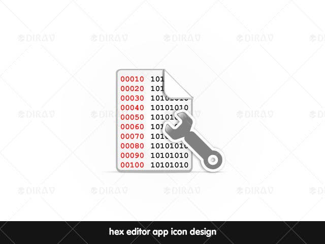 #27 for Design some Icons for a hex editor application by dirav