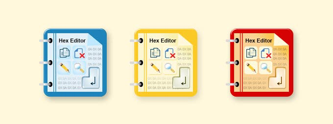 #11 for Design some Icons for a hex editor application by ProliSoft