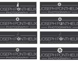 #193 for Design a Logo for Joseph Ponthieux Photography af dreamer509