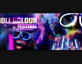 #23 cho Design eines Banners for Holi-Colour Festival night edition bởi azizagoda