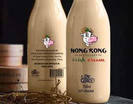 #1035 untuk Design a logo and bottle label for Hong Kong Distillery Irish cream oleh paranajwani