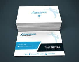 #8 for personal training business cards by wpdtpg