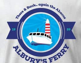 #22 untuk Design a T-Shirt for Alburys Ferry , Abaco Bahamas oleh tengkushahril