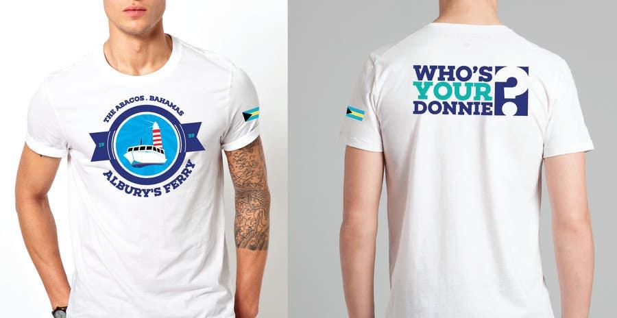 Penyertaan Peraduan #28 untuk Design a T-Shirt for Alburys Ferry , Abaco Bahamas