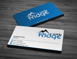 #9 untuk Design some Business Cards for Ridge Web oleh anikush