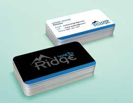 #14 untuk Design some Business Cards for Ridge Web oleh petersamajay