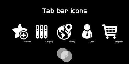 MFaizDesigner tarafından Design some Icons for iOS App için no 22