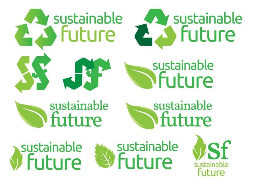 Proposition n°                                        21                                      du concours                                         Logo Design for SustainableFuture