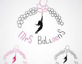 "#96 untuk Design a Logo for my business ""MRS BALLOONS"" oleh meroyano"