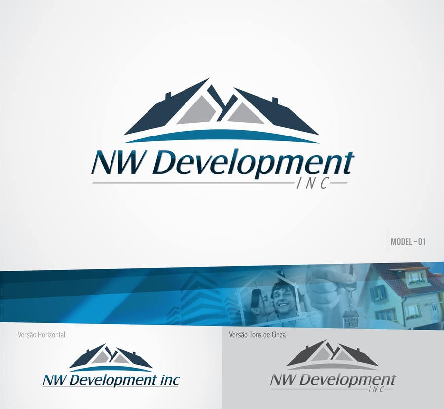 Inscrição nº 53 do Concurso para Logo for New Real Estate Development Company - Company name is NW Development Inc