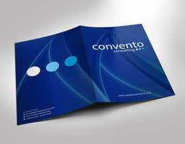 #12 for A4 promotional folder design a management consulting company. by gohardecent