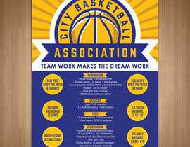 #3 untuk Design a Flyer for Basketball League oleh teAmGrafic