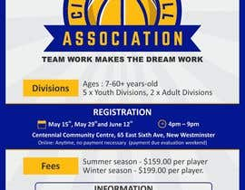 #2 untuk Design a Flyer for Basketball League oleh elancekumar