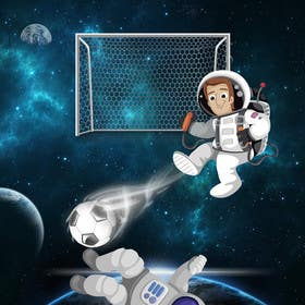 #17 untuk Soccer Gravity on the planet oleh msdvenkat