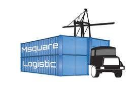 #15 untuk Design a Logo for container  transport company oleh tarekhfaiedh