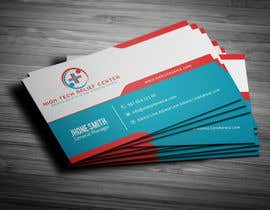 #1 untuk Design some Business Cards for High Tech Relief Center oleh Fgny85