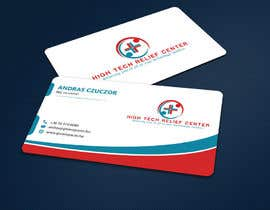 #44 untuk Design some Business Cards for High Tech Relief Center oleh ALLHAJJ17
