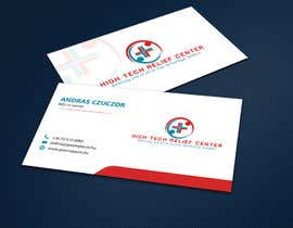 #51 untuk Design some Business Cards for High Tech Relief Center oleh ALLHAJJ17