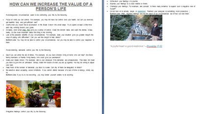 #13 untuk Do some Blog Posting for How can we increase the value of a person's life? oleh hectorduvan89