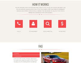dusanevipul tarafından Design a Website Mockup for a car website için no 7