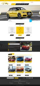 #13 untuk Design a Website Mockup for a car website oleh logodesire