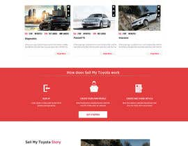#29 untuk Design a Website Mockup for a car website oleh Ganeshdas