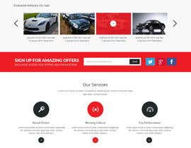 syrwebdevelopmen tarafından Design a Website Mockup for a car website için no 23