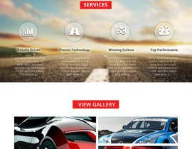 #22 untuk Design a Website Mockup for a car website oleh sauravT