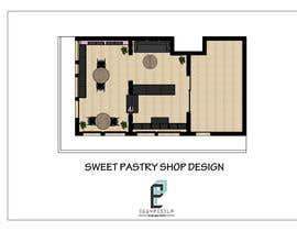 eggypesela tarafından Interior modern design for a sweet/pastry shop için no 15