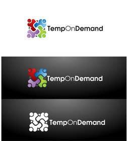 #132 untuk Design a Logo for Temporary Staffing app oleh Graphicsuite