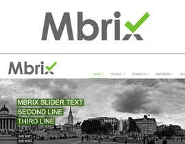 #139 para Design a logo for Mbrix IT management consultancy por pixelpoint1