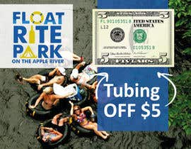 #9 untuk Design Simple $5 off Dropcard Coupon for Float Rite Park oleh ashanna