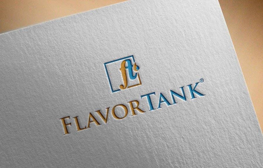 Proposition n°                                        57                                      du concours                                         Design a Logo for Flavor Tank