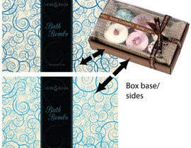 #12 untuk Create Print and Packaging Designs for a Bath Bomb Set oleh mefontaine