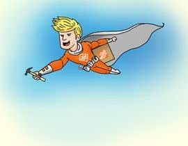 """#12 untuk """"Depot Man"""" - Superhero oleh shaswatabhowmick"""