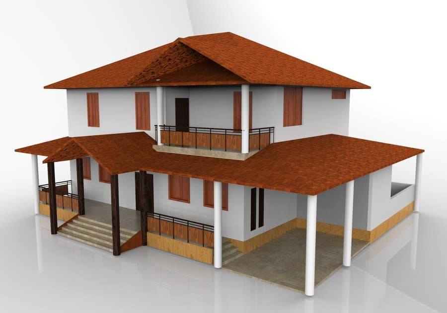 Entry 2 By Hridoycufl For Design And Render Exterior Facade For A