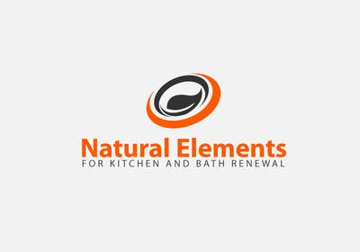 #69 for Design a Logo for Natural Elements for Kitchen and Bath Renewal by sultandesign