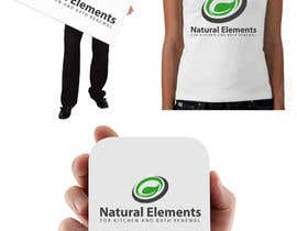 #71 para Design a Logo for Natural Elements for Kitchen and Bath Renewal por sultandesign