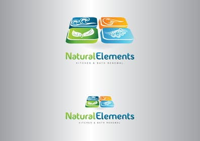 #35 for Design a Logo for Natural Elements for Kitchen and Bath Renewal by GeorgeOrf