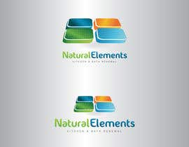 GeorgeOrf tarafından Design a Logo for Natural Elements for Kitchen and Bath Renewal için no 43