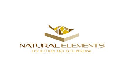 #50 for Design a Logo for Natural Elements for Kitchen and Bath Renewal by zetabyte